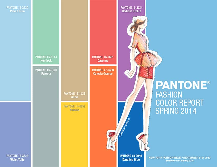 What Colours Will Work in My New Home? Get some inspiration from Pantone.