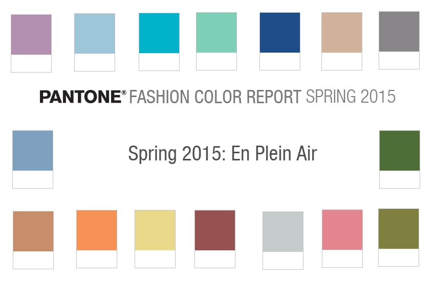 Top Pantone Colours for Spring 2015