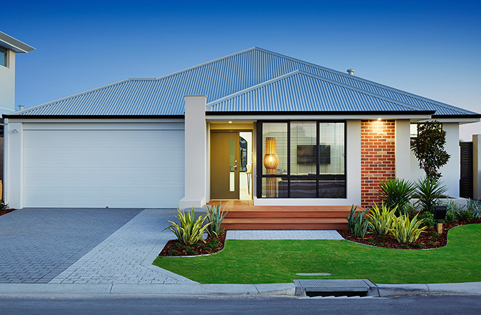 the Exceed display home Elevation Main