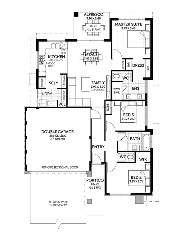The Eyre Floorplan by Smart Homes For Living
